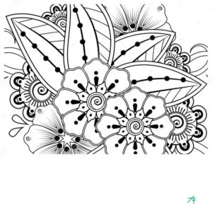how to make a flower mandala