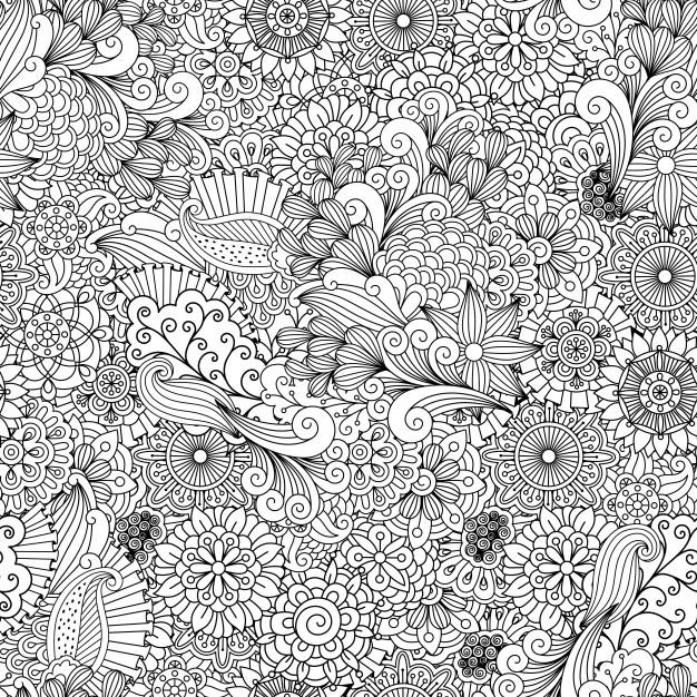 flowers-mandalas