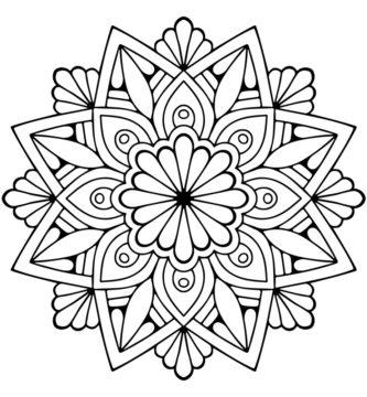 origin of mandala to draw