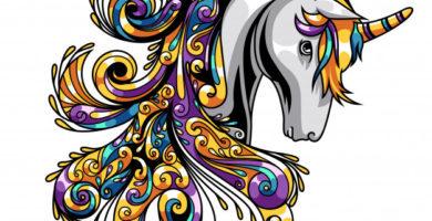 unicorn-mandala
